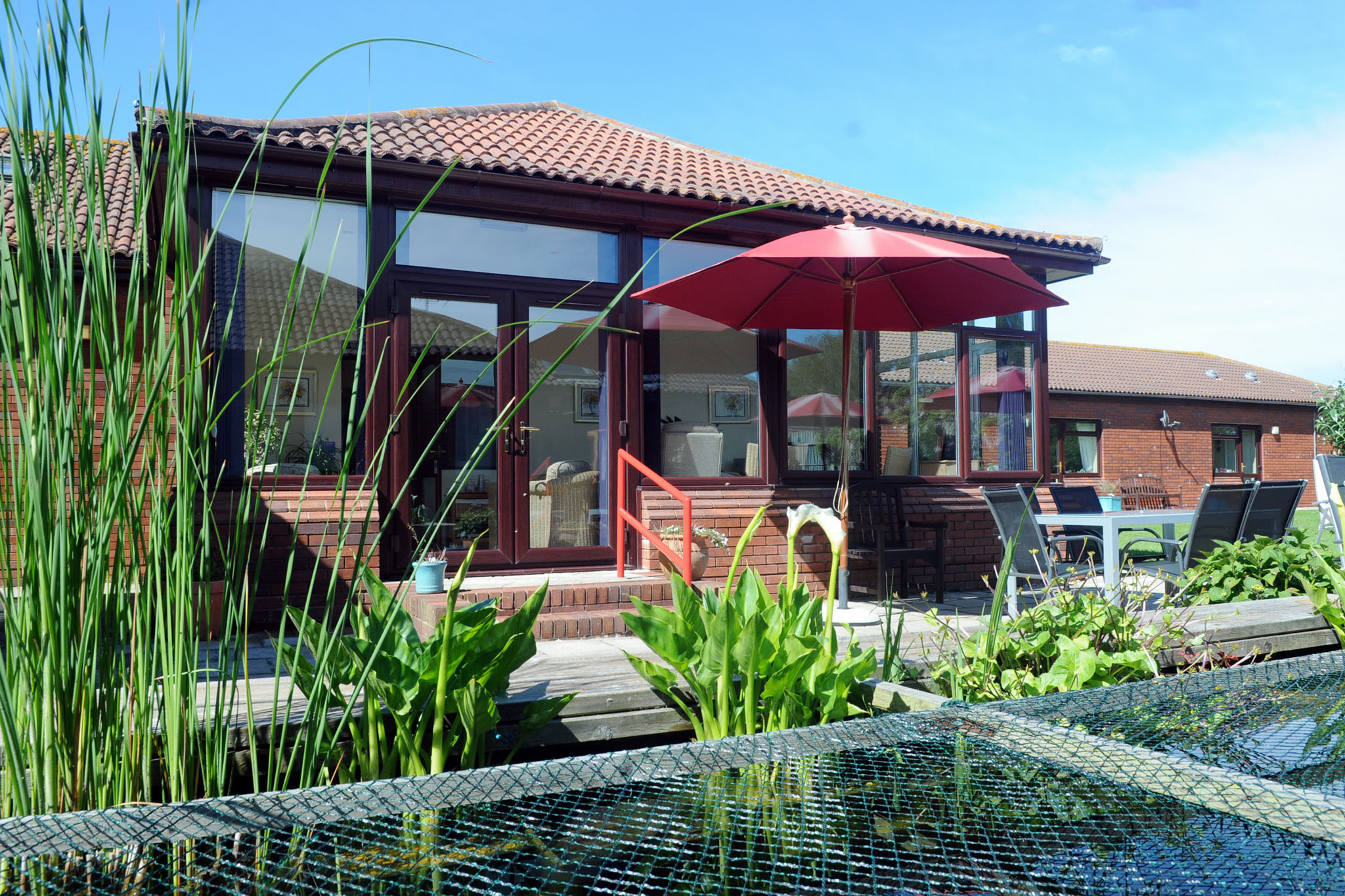 Manorfield Residential Home Gardens