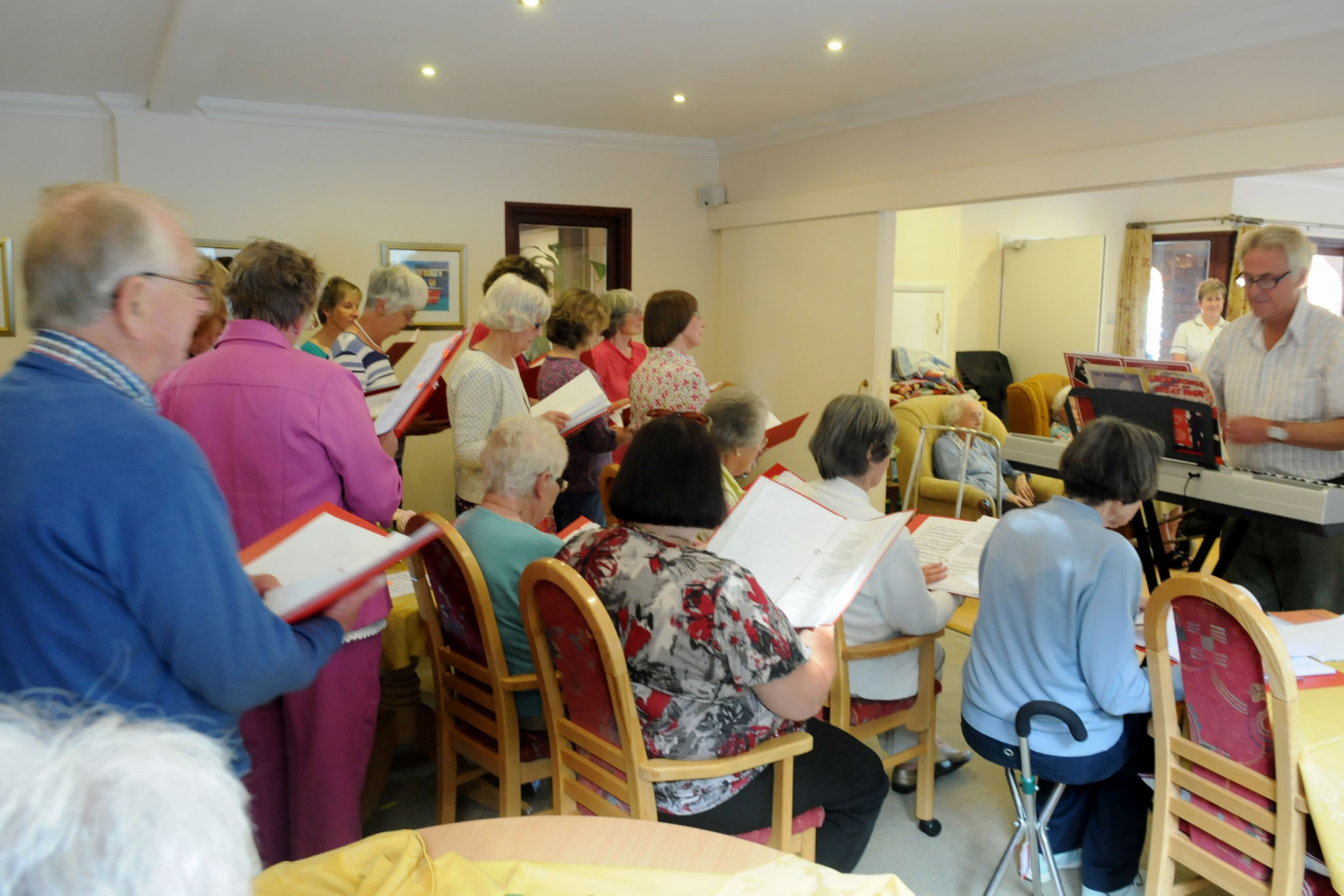Manorfield Residential Home Entertainment