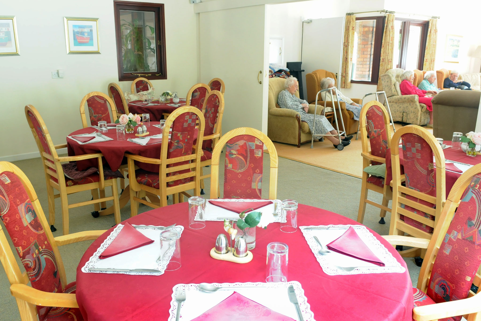 Manorfield Residential Home Dining Room